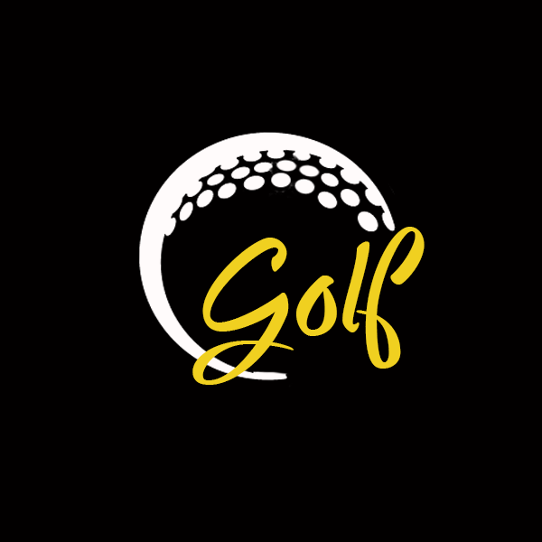 Golf Fancy Font Decals - Choose Your Size