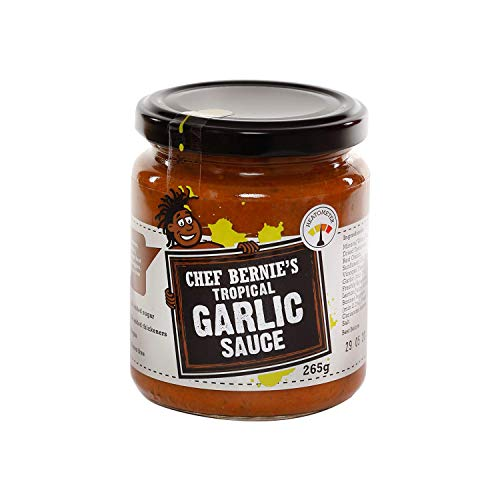 Tropical Tomato, Garlic and Chilli Paste - Vegan - 100% Natural - Gluten & Dairy Free - No Added Sugar - 1x 265g Jar - Chef Bernie's