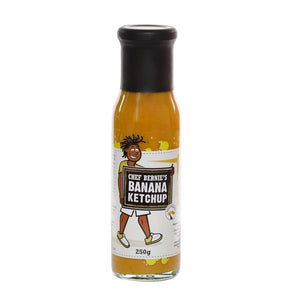 ON SALE - Banana Ketchup - Vegan - 100% Natural - Gluten Free - Dairy Free - No Added Salt - Chef Bernie's