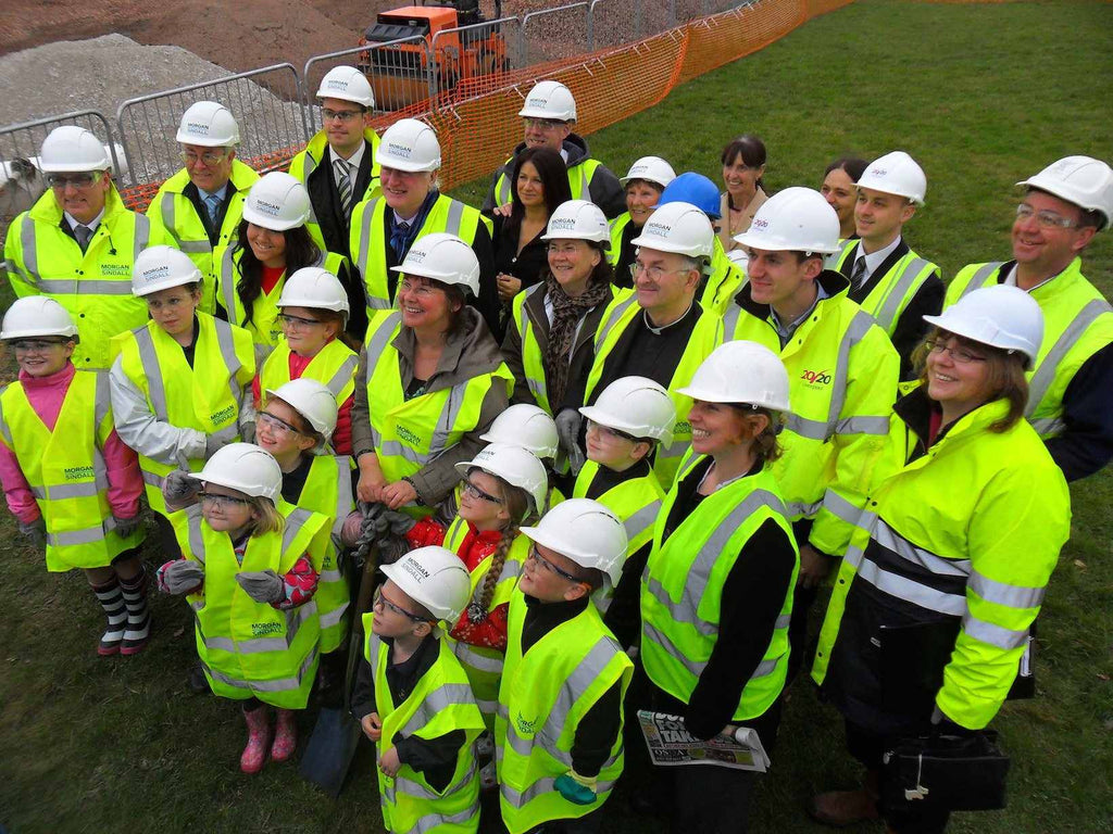 Time capsule burial at Croxteth Primary