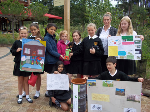 Alameda Middle School plant Commemoration time capsule at Center Parcs Woburn Forest - Time Capsules UK
