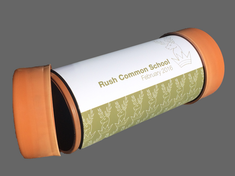 Commemoration Time Capsule Rush Common School - Time Capsules UK