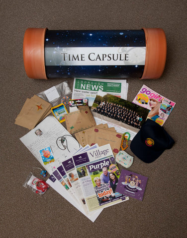 Time capsule contents of Stoke Park Primary - Time Capsules UK