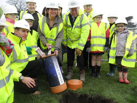 Croxteth Primary bury Commemoration time capsule Time Capsules UK