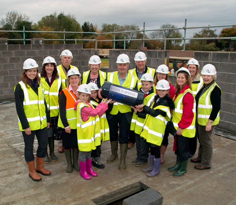 Time Capsule burial at Doddinghurst Surgery - Time Capsules UK