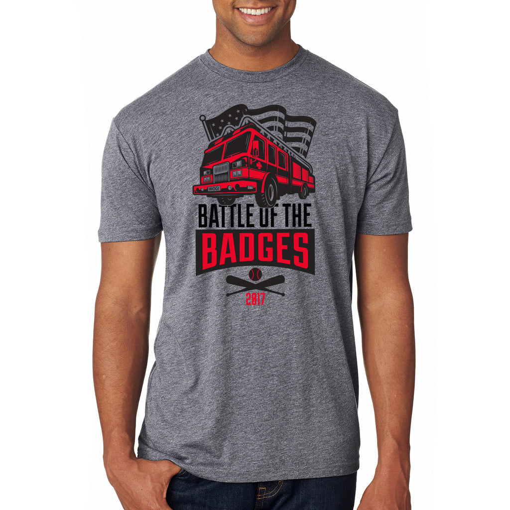 Battle of the Badges Tee Shirt