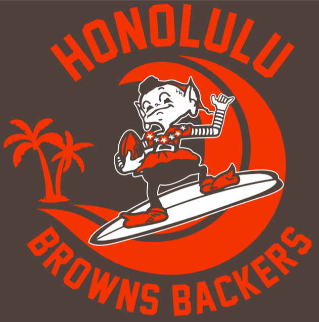 Honolulu Hawaii Browns Backers