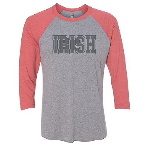 Irish Three-Quarter Sleeve Raglan