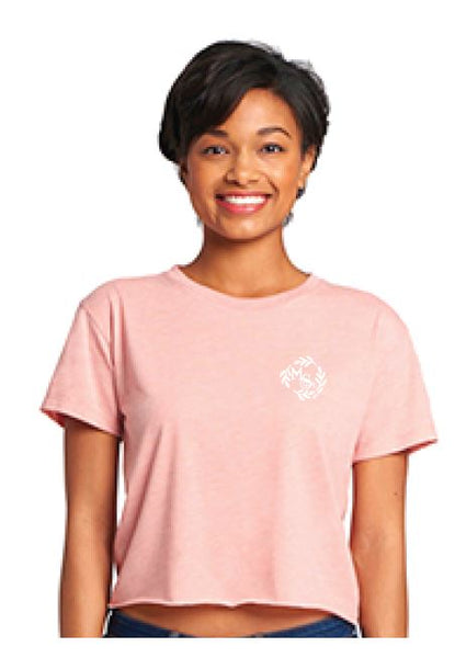 Main Street Salon & Spa Crop - Desert Pink