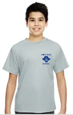 St. Rose Youth Gym Tech Shirt
