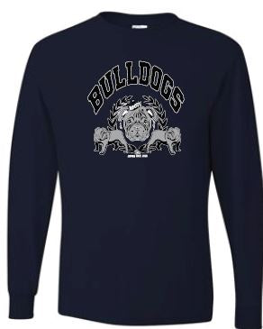 MD - Unisex Scott Bulldogs Long Sleeve