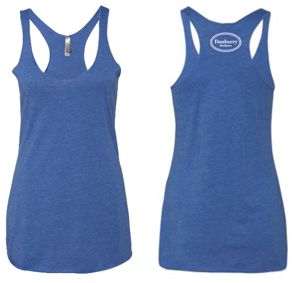 Ladies - Next Level Triblend Racerback Tank (Danberry Realtors) - 6733
