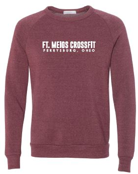 FMCF - Adult Unisex Dark Red Crew
