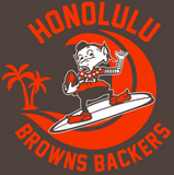 BELLA + CANVAS - Unisex Triblend Tee - 3413 (Honolulu Browns Backers)
