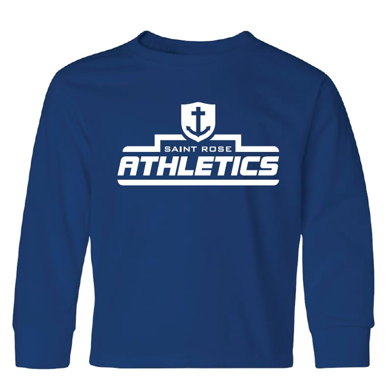 Saint Rose Athletics Youth Long Sleeve Shirt - STRATH1