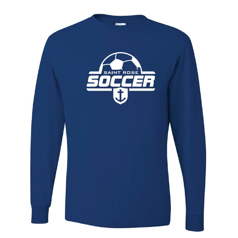Saint Rose Soccer Adult Long Sleeve Shirt - STRATH1
