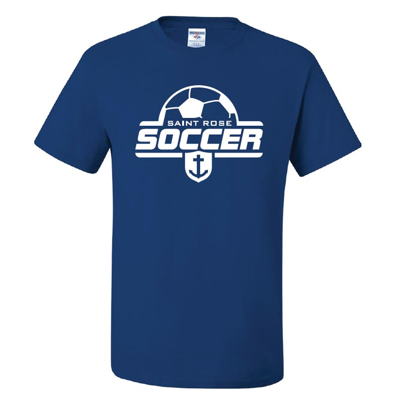 Saint Rose Soccer Adult T-Shirt - STRATH1