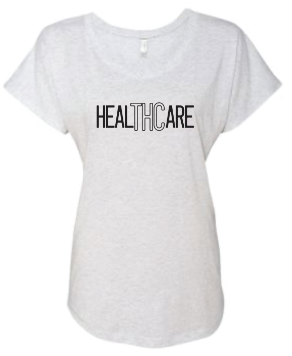 LJW - HealTHCare Womens White Dolman