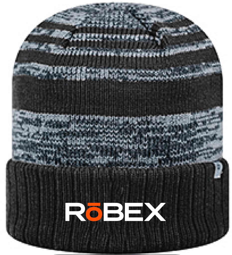 RoBEX - RoBEX - Top Of The World Adult Echo Knit Cap - Black