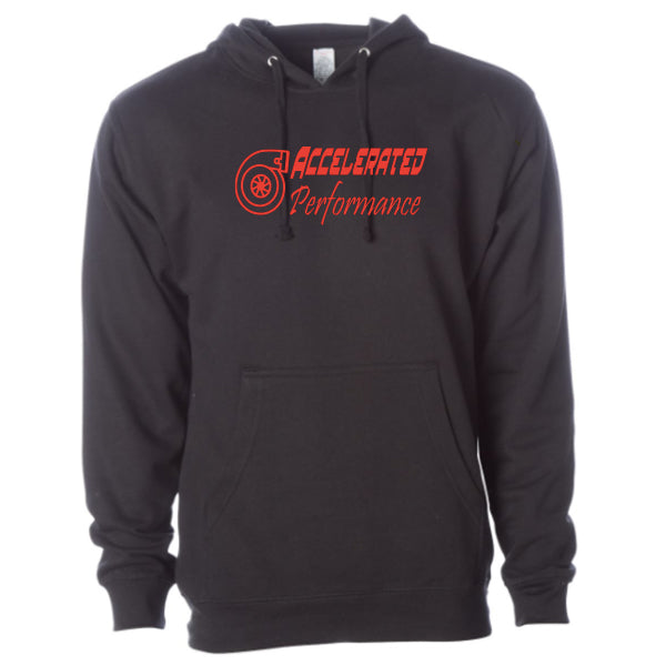 Accelerated Performance Hoodie Here for Good