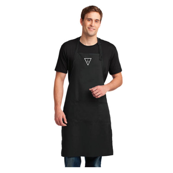 Balance - Samurai / Ninja B Triangle Apron (Embroidered)