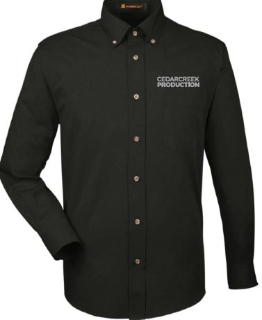 CedarCreek Production Long Sleeve Button Down