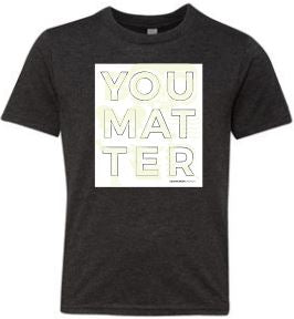 You Matter October Youth Tee