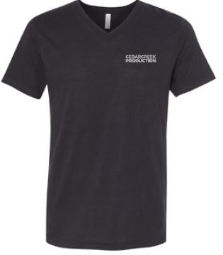 CedarCreek V-neck Production Shirt