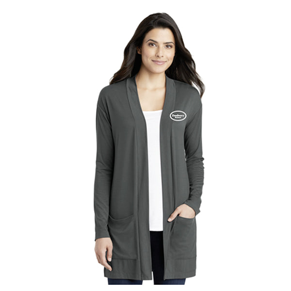 Port Authority® Ladies Concept Long Pocket Cardigan (Danberry Realtors) - LK5434