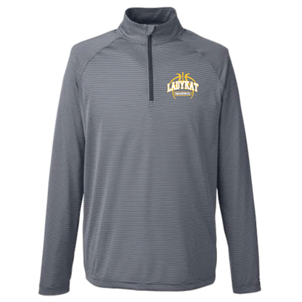 LadyKat Basketball UA Tech Stripe Quarter Zip