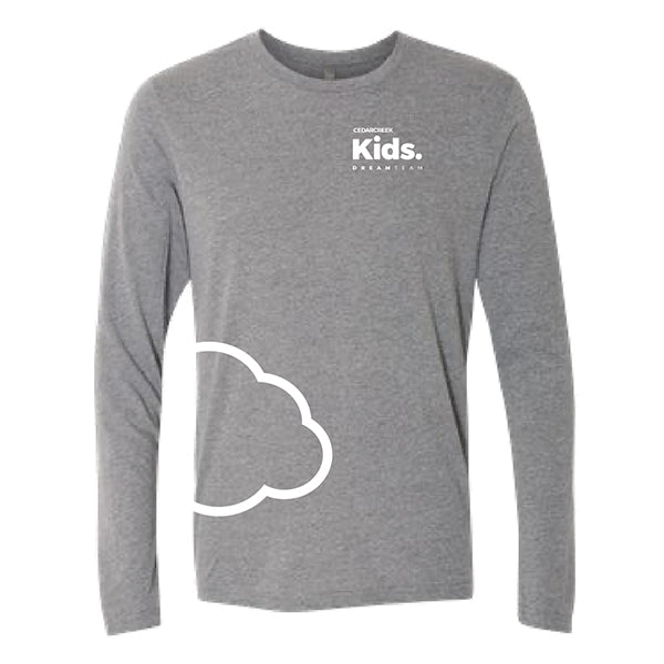 CedarCreek Kids - Adult Unisex Grey Long Sleeve
