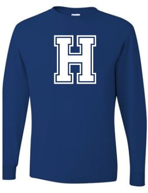 Hannay - Adult Unisex Letter Long Sleeve