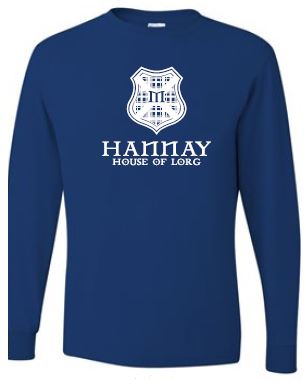 Hannay - Adult Unisex Crest Long Sleeve