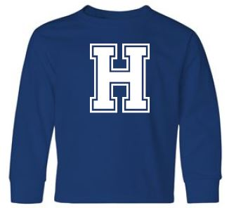 Hannay - Youth Unisex Letter Long Sleeve