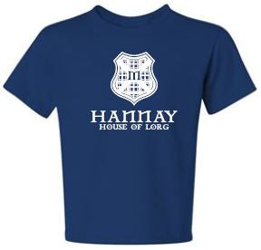 Hannay - Youth Unisex Crest T-shirt