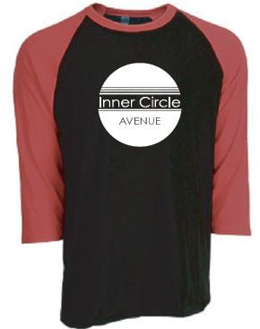 ICA - Adult Unisex Black/Red Raglan