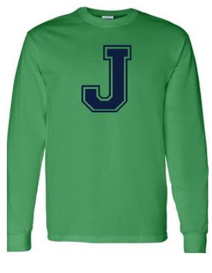 Johnstone - Adult Unisex Letter Long Sleeve