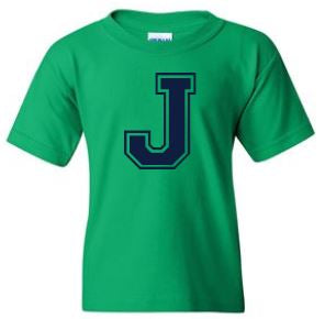 Johnstone - Youth Unisex Letter T-shirt