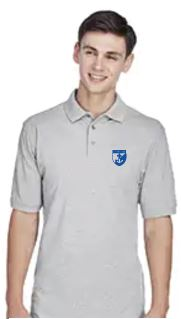 St. Rose Adult School Polo - Grey