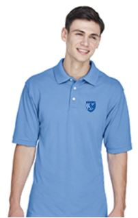 St. Rose Adult School Polo - Light Blue