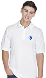 St. Rose Adult School Polo - White