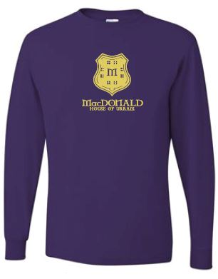 MacDonald - Adult Unisex Crest Long Sleeve