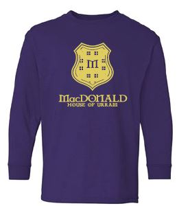 MacDonald - Youth Unisex Crest Long Sleeve