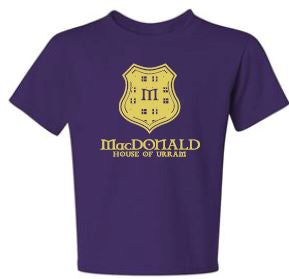 MacDonald - Youth Unisex Crest T-shirt