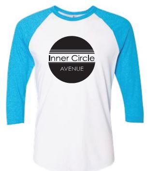 ICA - Adult Unisex Blue/White Raglan