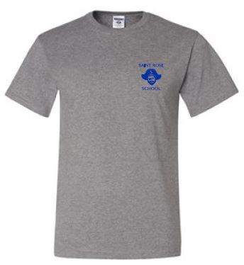 St. Rose Adult Gym Shirt
