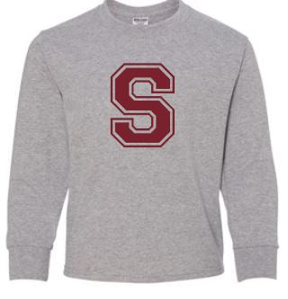 Stewart - Youth Unisex Crest Long Sleeve