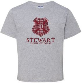Stewart - Youth Unisex Crest T-shirt