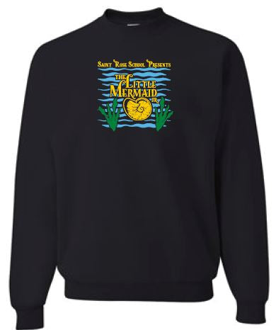 TLMJR CAST ONLY- Adult Unisex Black Crewneck - WITH PERSONALIZATION