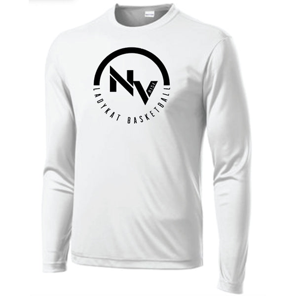 LadyKat Basketball Dri-FIT Long Sleeve T-Shirt